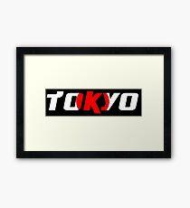 Simplistic Tokyo Framed Print