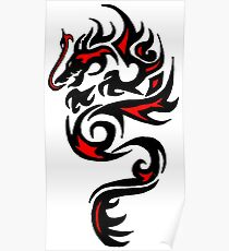 Dragon Red Poster