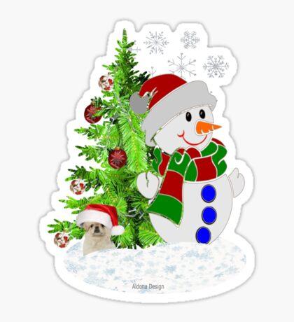 Lets build a Snowman ( 199 Views) Sticker