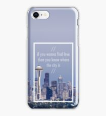 // wanna find love // iPhone Case/Skin