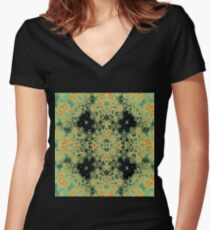 Spores Women's Fitted V-Neck T-Shirt