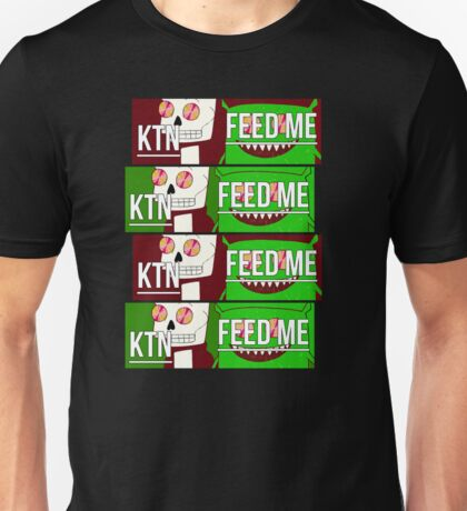 Feed me & Kill the noise Unisex T-Shirt
