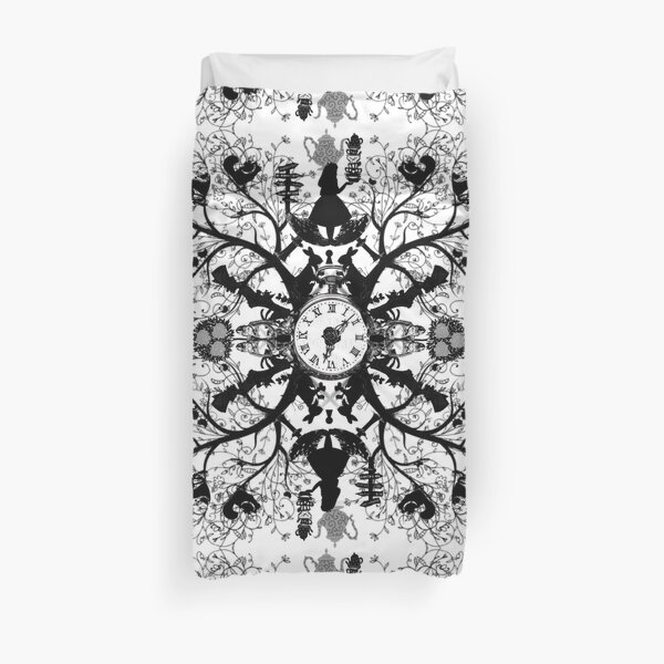 Think Wonderland Ink  Duvet Cover