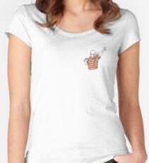 The Babe Tailliertes Rundhals-Shirt