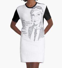 Amelia Earhart - Tenacity Graphic T-Shirt Dress
