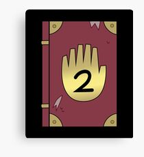Gravity Falls // Journal 2 Canvas Print