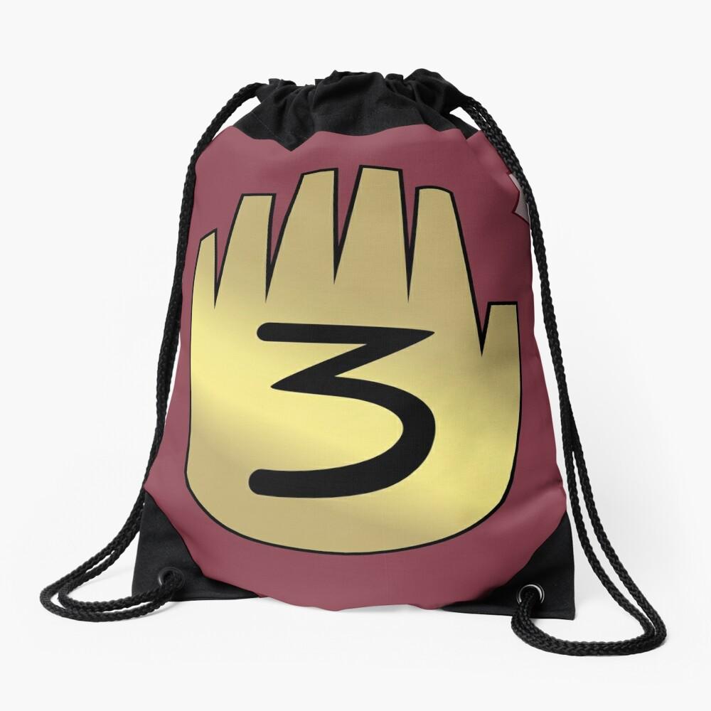 Gravity Falls // Journal 3 Drawstring Bag