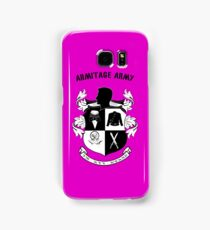 Armitage Army CoA -txt- Samsung Galaxy Case/Skin