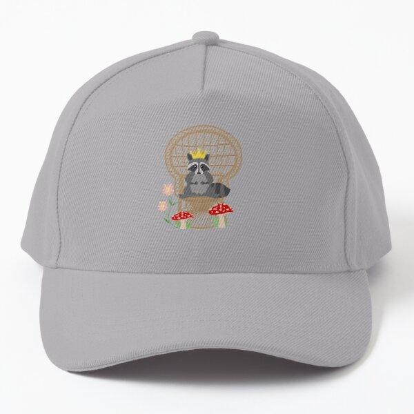 Boho Raccoon  Baseball Cap