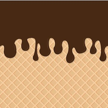 Miss Sundae - Pattern (chocolate) by artemissart