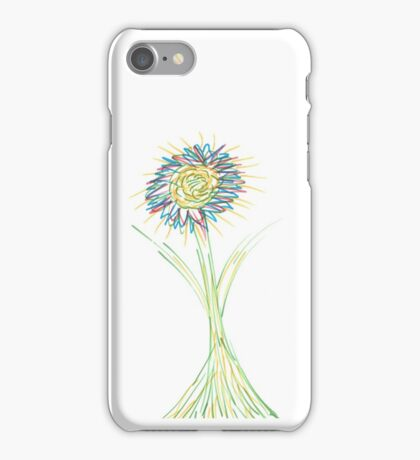 Drawn Daisy iPhone Case/Skin