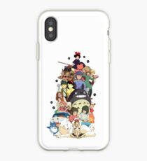 Studio Ghibli Characters iPhone Case