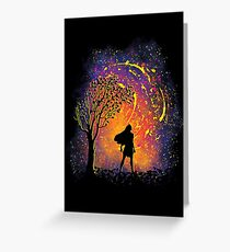 Colours Of The Wind Greeting Card