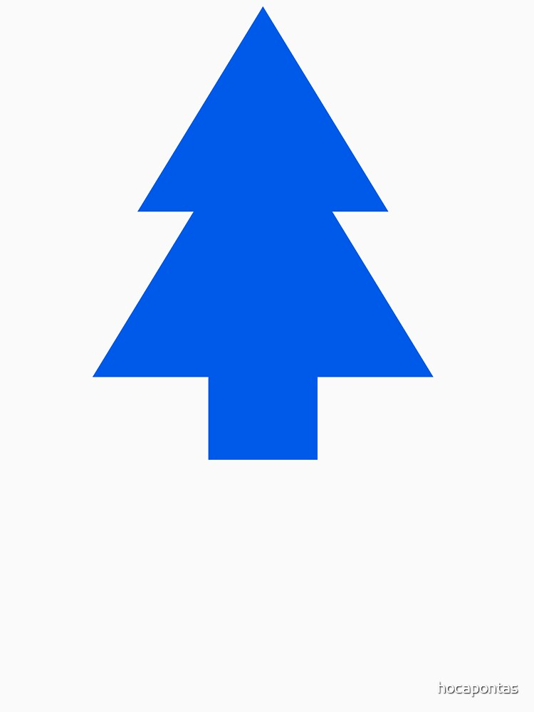 Dipper Pines Tree Shape // Gravity Falls | Baseball  Sleeve