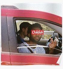 Childish Gambino - Childish [Logo] Poster