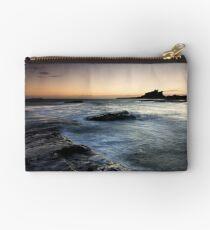 Bamburgh Castle - sunrise Studio Pouch