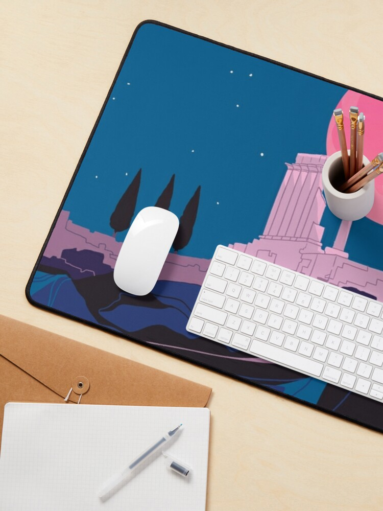 Alternate view of Temple of Poseidon at Sounion Mouse Pad