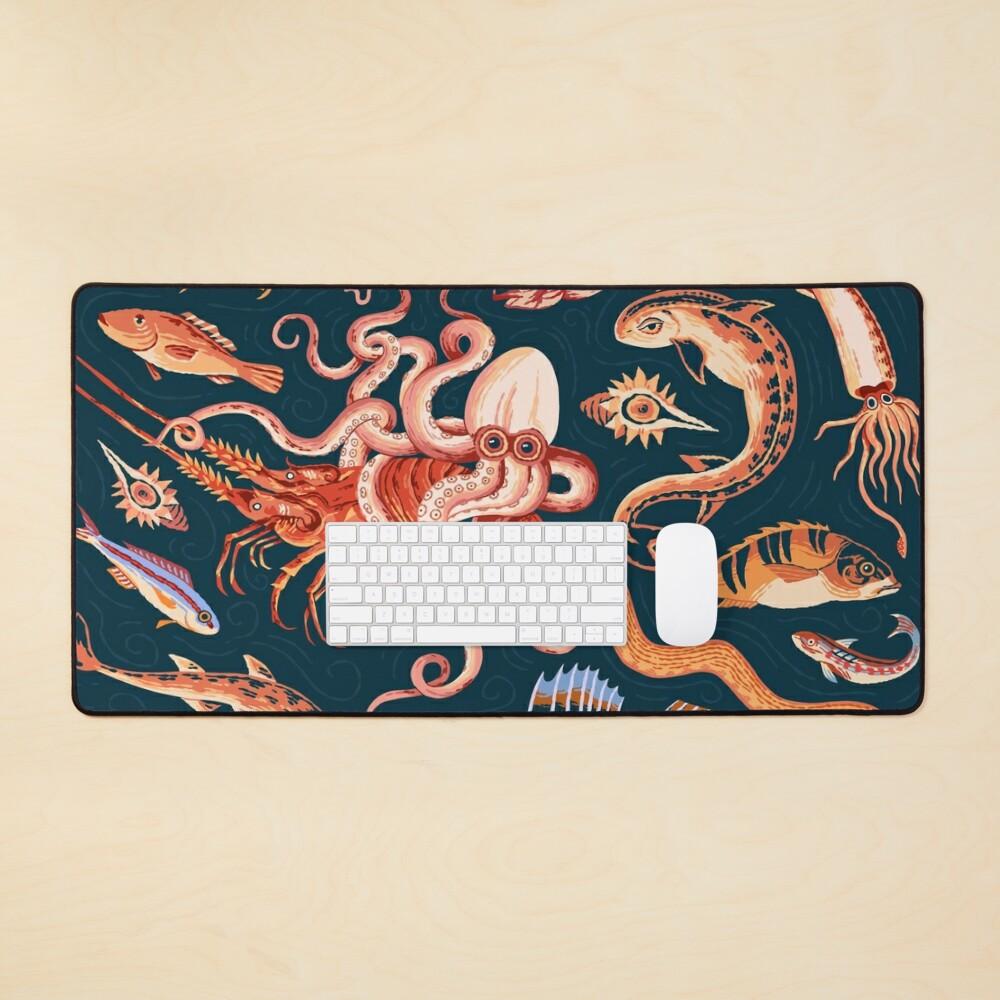Pompeii Marine Mosaic  Mouse Pad