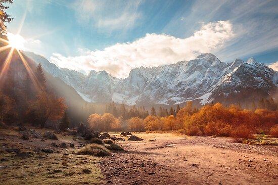 «sunrinse de otoño en el valle» de zakaz86