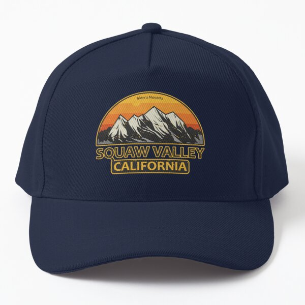 Squaw Valley, California Baseball Cap