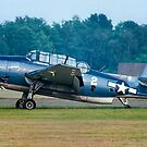Eastern TBM-3R Avenger 53319 G-BTDP by Colin Smedley