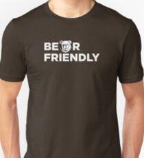 Robust Bear friendly white T-Shirt