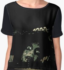 EVIL DEAD - CELLAR Women's Chiffon Top