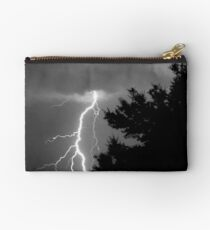 Cloud to Ground Discharge #1 Studio Pouch