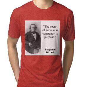 The Secret Of Success Disraeli Posters By Crankyolddude Redbubble