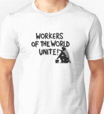 Workers Unite Street Art Unisex T-Shirt