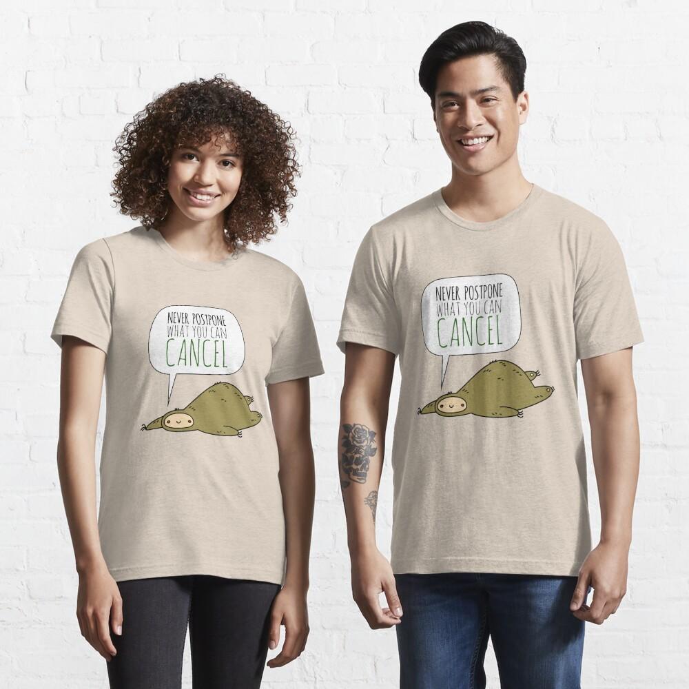 Sloth Wisdom.  Essential T-Shirt