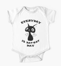Everyday is Bat-Cat Day One Piece - Short Sleeve