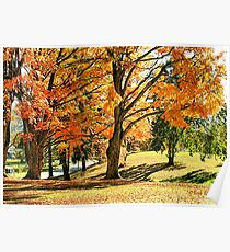 """""""Fall at Mountain Home, Tennessee""""... prints and products Poster"""