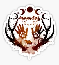 Marauders. Sticker