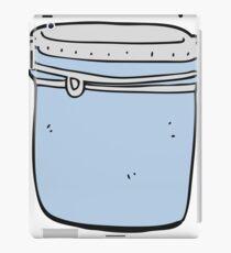 cartoon jar iPad Case/Skin