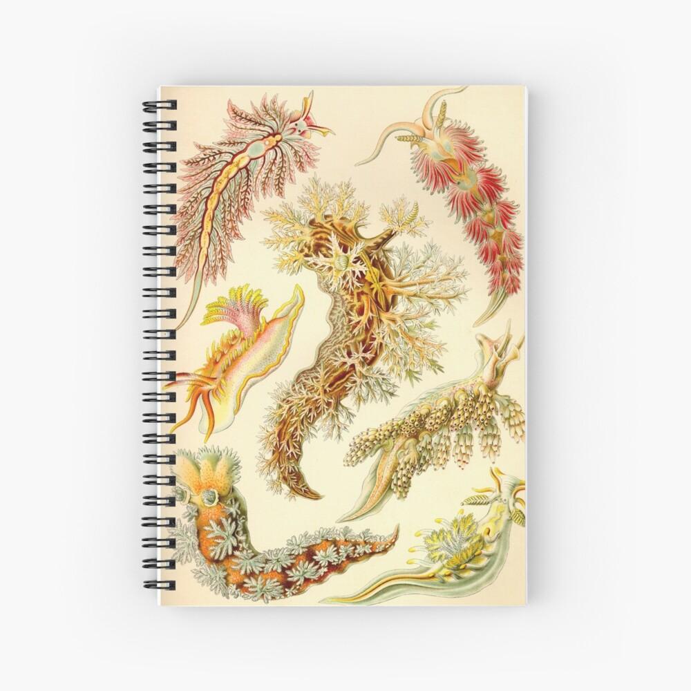 Sea Slug - Ernst Haeckel Spiral Notebook