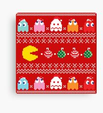 Merry Geeky Christmas (Red)  Canvas Print