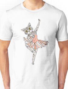 Cat Ballerina Tutu Unisex T-Shirt