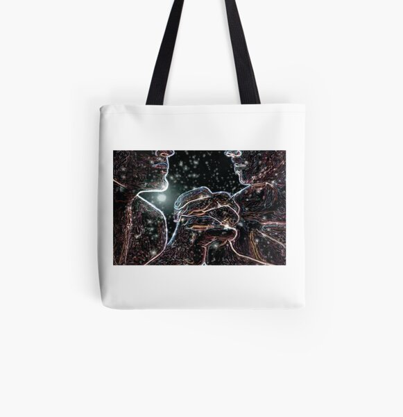 Holding (We too are Cosmos Made) All Over Print Tote Bag
