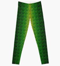 Green Dragon Scale Leggings