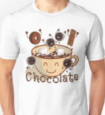 Hot chocolate fun Unisex T-Shirt
