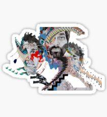 Animal Collective Sticker