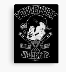Young Punx / Wildkats Canvas Print