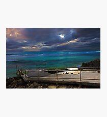 Mettams Pool Beach Ramp  Photographic Print