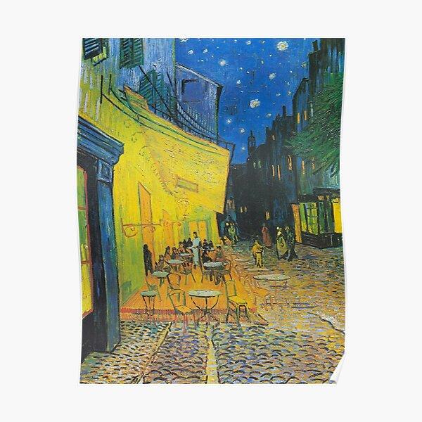 Vincent van Gogh Cafe Terrace 1888 Poster