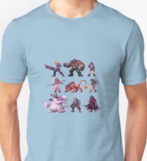 Team FFVII Slim Fit T-Shirt