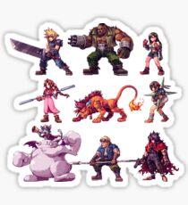 Team FFVII Sticker