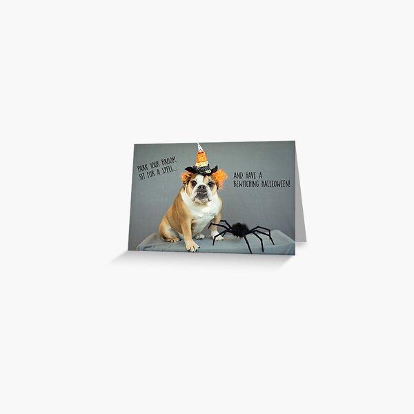 Bewitching Halloween Greeting Card