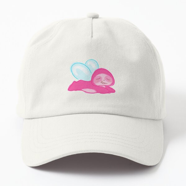 relaxing pink sloth fairy Dad Hat