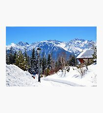 View at Stubai Alps Range, Tyrol, Austria Photographic Print